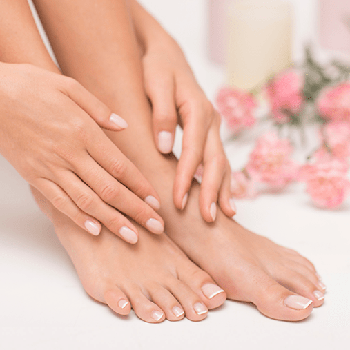 Mindful Manicure and Pedicure